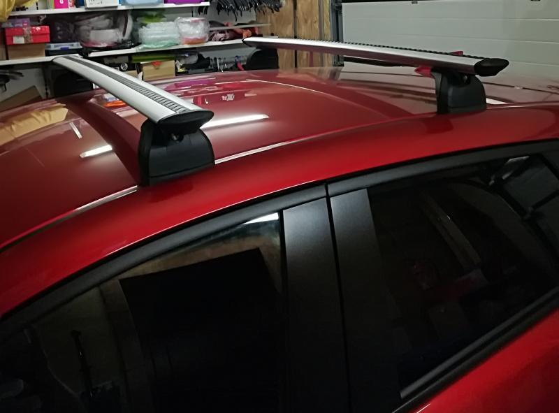 Originalūs Mazda CX3 skersiniai