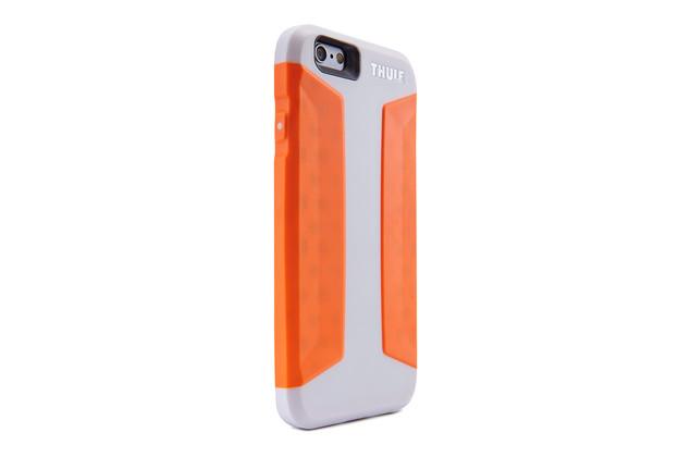 Telefono dėklas Atmos X3 IPHONE 6 balta/oranžinė