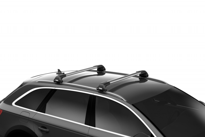 Thule Edge aerodinaminiai stogui su integruotais reilingais