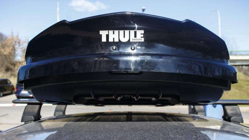 Thule Dynamic L black glossy stogo bagažinė