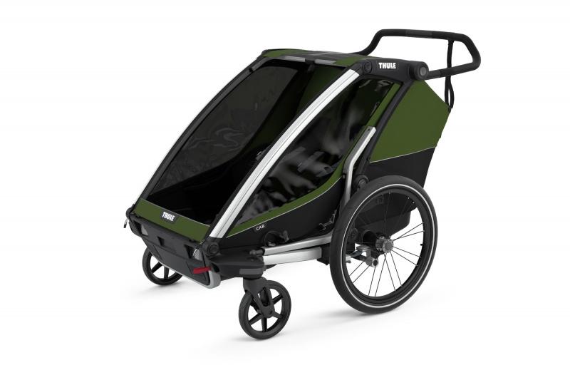 Thule Chariot Cab 2 vežimėlis