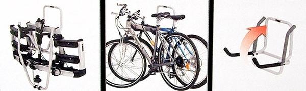 Thule dviračių laikiklis ant sienos
