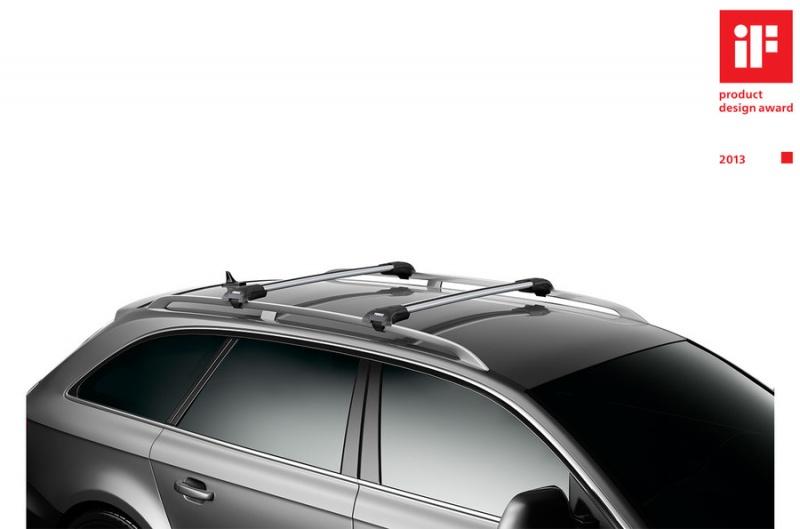 Thule Edge aerodinaminiai stogui su bėgeliais