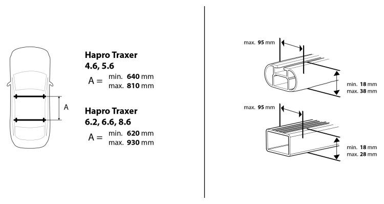 Hapro Traxer 8.6 silver grey