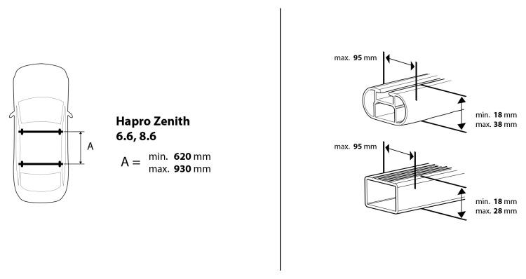 Hapro Zenith 6.6 pure white